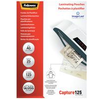 Fellowes ImageLast 125 micron glanzend A5-25pk Lamineerhoes - Transparant