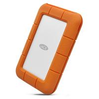 LaCie Rugged USB-C Externe harde schijf - Grijs, Geel