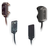 Datalogic SM-PR-2-B00-NN = Reflex polarized plastic radial npn no/nc - 2 mt cable Capteurs photoélectriques