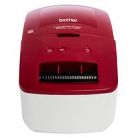 Brother QL-600R Imprimante d'étiquette - Noir