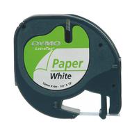 DYMO LetraTag® étiquettes en papier Ruban d'étiquettes