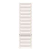 Apple Leather Link-bandje - Kalkwit (40 mm) - S/M