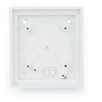 Mobotix T24M\Single On-Wall mount Pure White Boîtes de jonction électrique - Blanc