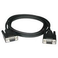 C2G 0.5m DB9 F/F Modem Cable Câble de réseau - Noir