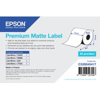 Epson Premium, 51mm x 35m, 163 g/m² étiquette