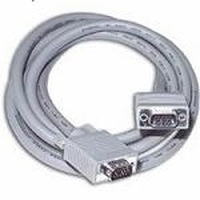 C2G 5m Monitor HD15 M/M cable - Gris