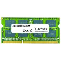 2-Power 4GB MultiSpeed 1066/1333/1600 MHz SoDIMM Memory Mémoire RAM - Vert