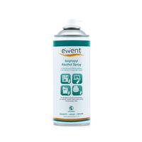 Ewent Isopropyl Alcohol spray 400ml Kit de nettoyage pour ordinateur - Transparent