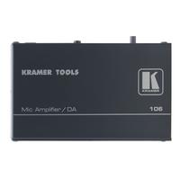 Kramer Electronics 1 x balanced mono microphone IN, 2 x balanced mono line out, 27 Vpp, 40kHz, 81 dB, .....