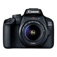 Canon EOS 4000D + EF-S 18-55mm III Digitale camera - Zwart