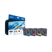 Brother Pack de cartouches d'encre : Cyan / Magenta / Jaune / Noir Cartouche d'encre - Noir, Cyan, Magenta, .....