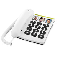 Doro PhoneEasy 331ph Téléphone - Blanc
