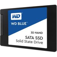 Western Digital Blue 3D NAND SATA 250GB 2.5'' 7mm SSD - Zwart