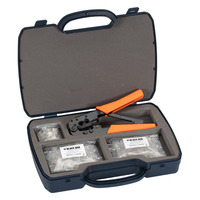 Black Box RJ11 Modular Plug Termination Kit Modulaire apparaataccessoire - Zwart,Oranje