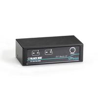 Black Box ServSwitch DT Basic II KVM switch - Zwart