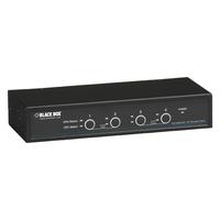 Black Box ServSwitch KVM switch - Zwart