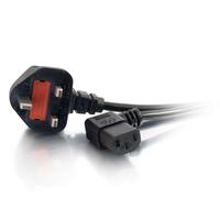 C2G 5m Power Cable Cordon d'alimentation - Noir