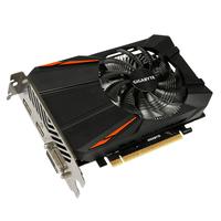 Gigabyte GeForce GTX 1050 Ti D5 4G Videokaart - Zwart