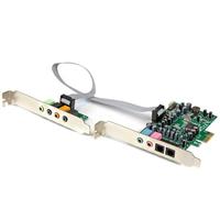 StarTech.com 7.1 PCI Express surround 24 bit 192 kHz Geluidskaart