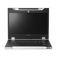 Hewlett Packard Enterprise LCD8500 1U UK Rackmount Console Kit Supports d'ordinateurs