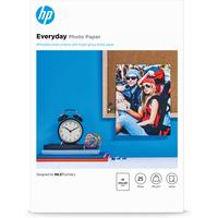 HP Everyday glanzend, 25 vel, A4/210 x 297 mm Fotopapier - Zwart,Blauw,Wit