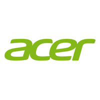 Acer Cover Lcd Bezel Black W/Blck Cap Laptop reserve onderdelen - Zwart