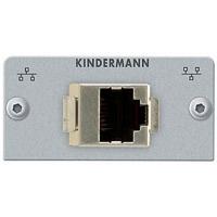 Kindermann Adapter plate CAT 5 (RJ45) - Argent