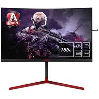 AOC AGON 3 27 inch 2560x1440@165Hz 1 ms TN HDMI 1.4 x 1, DisplayPort 1.2 x 1 USB 3.0 x 4 G-SYNC Monitor - Zwart,Rood