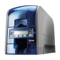 DataCard SD260S Imprimante de carte - Bleu, Gris