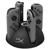 HyperX ChargePlay Quad - Zwart