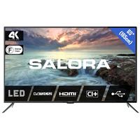 """Salora 2800 series 65"""" (165CM) UHD LED TV MET DVB-S2/T/T2/C EN USB MEDIASPELER Led-tv - Zwart"""