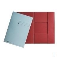 Esselte Folder with 3 flaps Folio, Orange Map - Groen