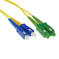 ACT SC/APC8 - SC/PC 9/125um OS1 DUPLEX (FOSCCD-*M-A-5M) 5m Câble de fibre optique