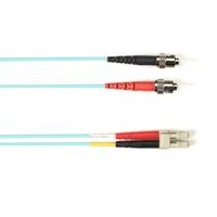 Black Box Câble de raccordement OM3 multimode coloré - LSZH Duplex Câble de fibre optique - Couleur aqua