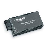 Black Box Mini Media Converters Convertisseur réseau média - Noir