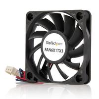 StarTech.com PC à Roulement à Billes - Alimentation TX3 - 60 mm Ventilateur - Noir