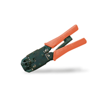 Digitus Multi Modular Crimping Tool, suitable for 4P2C 4P4C, 6P4C, 6P6C, 8P8C, incl. stripper and cutter Krimp-, .....