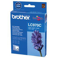 Brother LC-970CBP Blister Pack Cartouche d'encre - Cyan