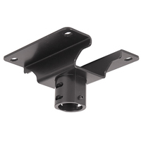 Chief Pin Connection Offset Ceiling Plate - Noir