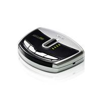 Aten Commutateur de périphérique USB 2.0 à 4 ports Commutateur KVM - Noir,Gris