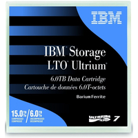 IBM LTO Ultrium 7 Data Cartridge Datatape - Zwart, Blauw
