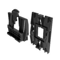 Mitel Wall-Mount Kit Telefoon onderdelen & rekken - Zwart