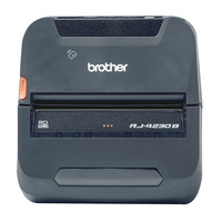 Brother Direct Thermal, 203 x 203 dpi, 5 ips (127 mm/s), 153 x 159 x 68 mm, 850 g POS/mobiele printer - Zwart