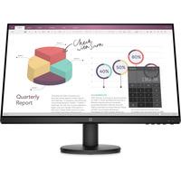 HP P24v G4 Monitor - Zwart