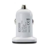 Xccess Car Charger Dual USB 2.1A White