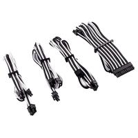 Corsair Premium Individually Sleeved PSU Cables Starter Kit Type 4 Gen 4, White/Black - Noir,Blanc