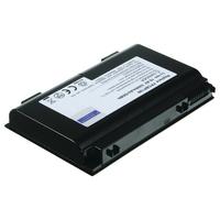 2-Power 10.8V 4600mAh Li-Ion Laptop Battery Laptop reserve onderdelen - Zwart