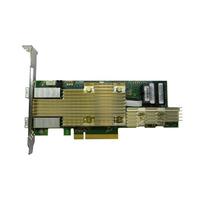 Intel Tri-mode PCIe/SAS/SATA Full-Featured RAID Adapter, 8 internal, 8 external ports RAID-controller