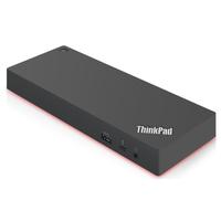 Lenovo ThinkPad Thunderbolt 3 Dock Gen 2, EU Station d'accueil - Noir,Rouge