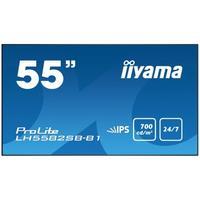 """Iiyama 55"""" digital signage display Full HD Public Display - Zwart"""